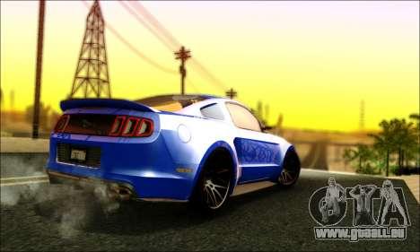 Ford Mustang GT 2013 v2 pour GTA San Andreas vue de droite