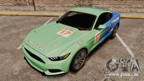 Ford Mustang GT 2015 v2.0 für GTA 4 obere Ansicht