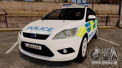 Ford Focus Estate Essex Police [ELS] pour GTA 4