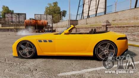GTA V Benefactor Surano für GTA 4 linke Ansicht