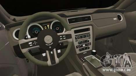 Ford Mustang 2015 Rocket Bunny TKF pour GTA 4 est une vue de l'intérieur