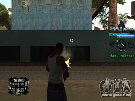 C-HUD by Powwer pour GTA San Andreas troisième écran