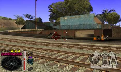 C-HUD by Andy Cardozo pour GTA San Andreas cinquième écran
