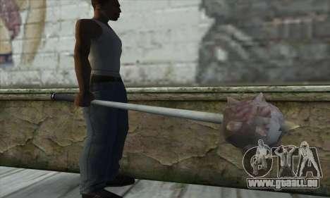 Spikes Hammer pour GTA San Andreas troisième écran
