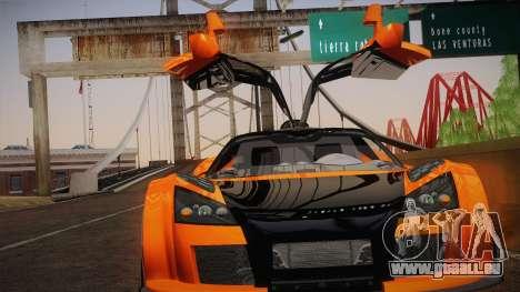 Gumpert Apollo Sport V10 pour GTA San Andreas