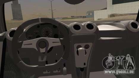 Gumpert Apollo Sport V10 pour GTA San Andreas vue de droite