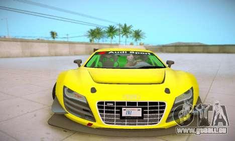 Audi R8 LMS Ultra v1.0.0 pour GTA San Andreas vue de côté