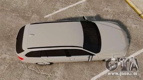 BMW 330d Touring (F31) 2014 Unmarked Police ELS für GTA 4 rechte Ansicht