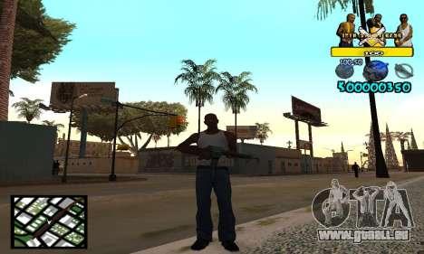 Vagos C-Hud pour GTA San Andreas