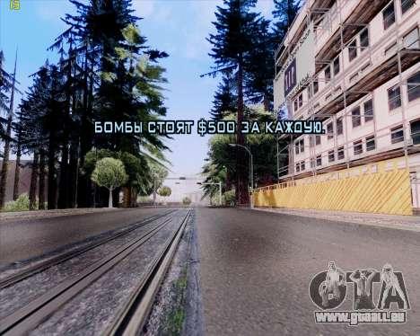 ENB HD CUDA 2014 v.3.5 Final für GTA San Andreas achten Screenshot