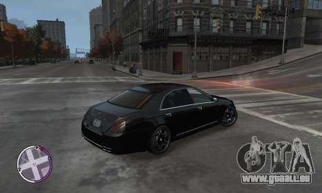 Enus Cognoscenti für GTA 4 rechte Ansicht