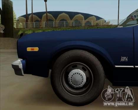 Dodge Aspen pour GTA San Andreas vue de côté