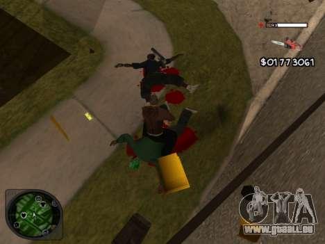 C-HUD by Azov pour GTA San Andreas troisième écran