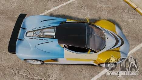 GTA V Grotti Turismo R für GTA 4 rechte Ansicht