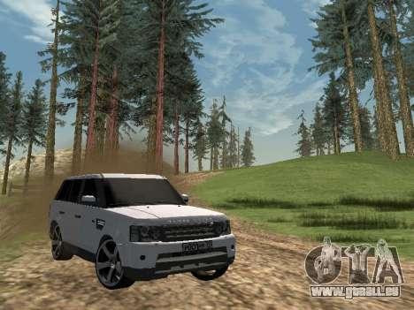 Range Rover Sport 2011 pour GTA San Andreas laissé vue