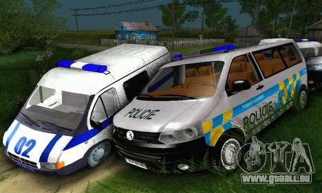 Volkswagen Transporter Policie für GTA San Andreas
