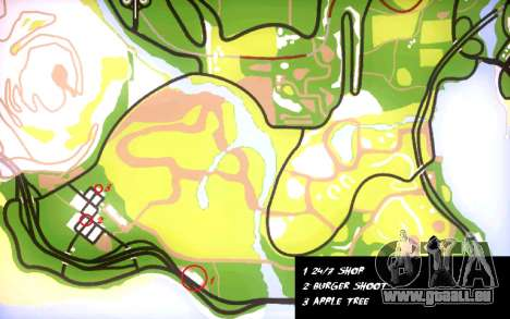 Rucksack 2.0 für GTA San Andreas sechsten Screenshot