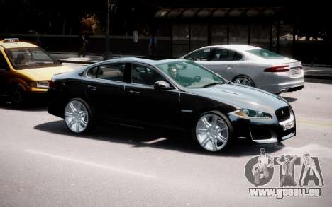 Jaguar XF-R 2012 v1.2 pour GTA 4 est un côté