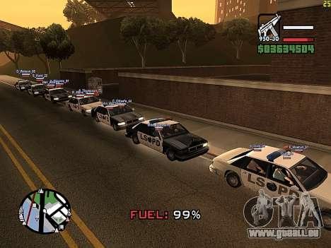 SA-MP 0.3z pour GTA San Andreas troisième écran