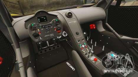 McLaren MP4-12C GT3 (Updated) pour GTA 4 est un côté