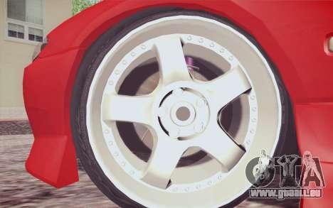 Nissan Silvia S15 BN Sports pour GTA San Andreas sur la vue arrière gauche