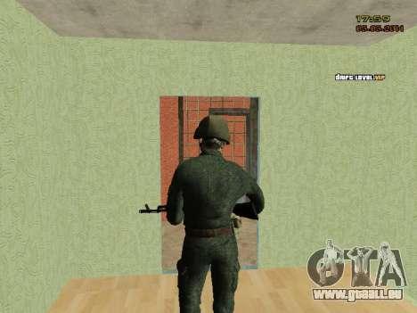 L'armée russe moderne pour GTA San Andreas sixième écran