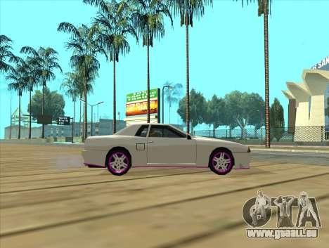 Elegy by MegaPixel für GTA San Andreas zurück linke Ansicht