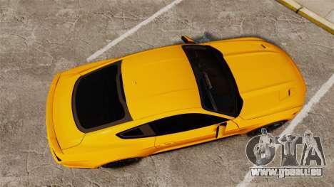 Ford Mustang GT 2015 v2.0 für GTA 4 rechte Ansicht