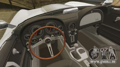 Chevrolet Corvette Stingray für GTA 4 Rückansicht
