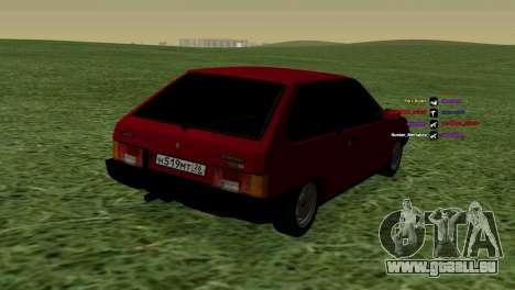 VAZ-2108 für GTA San Andreas rechten Ansicht