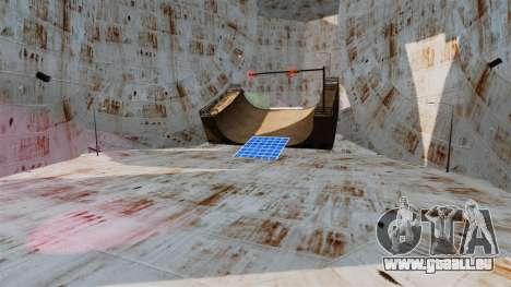 Deux étages de l'arène pour les courses de destr pour GTA 4 secondes d'écran