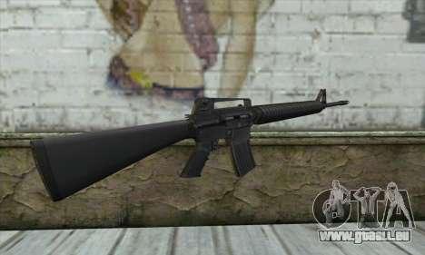 M16A2 pour GTA San Andreas deuxième écran