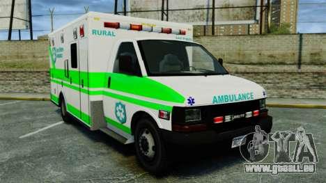 Brute Rural Metro EMS [ELS] pour GTA 4