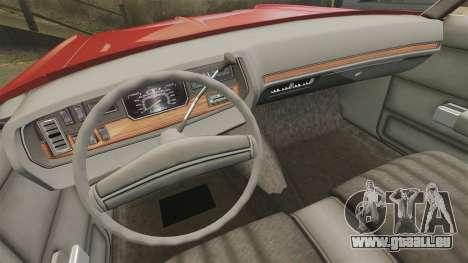 Dodge Polara 1971 pour GTA 4 est un côté