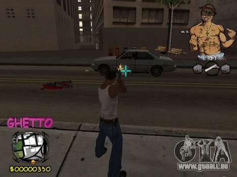 C-HUD 2pac pour GTA San Andreas