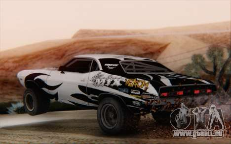 Dodge Challenger 1971 Aftermix pour GTA San Andreas