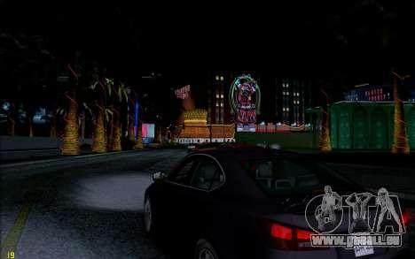 ENB HD CUDA 2014 v1.0 pour GTA San Andreas quatrième écran