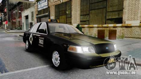 Ford Crown Victoria Cab pour GTA 4
