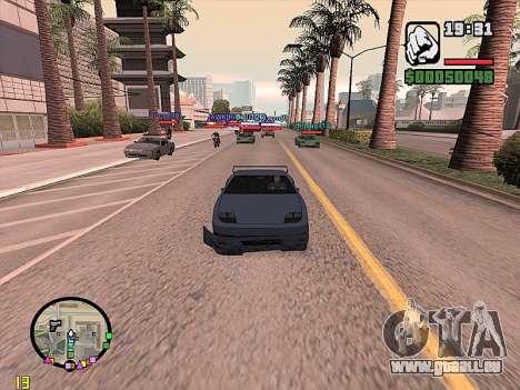 SA-MP 0.3z pour GTA San Andreas quatrième écran
