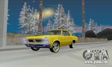 Pontiac GTO 1965 pour GTA San Andreas vue de côté