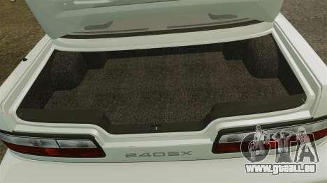 Nissan Onevia S13 [EPM] pour GTA 4 est une vue de l'intérieur