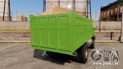 Si Buxiang Truck für GTA 4 hinten links Ansicht