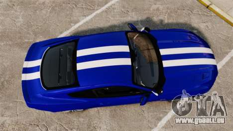 Ford Mustang GT 2015 Unmarked Police [ELS] für GTA 4 rechte Ansicht