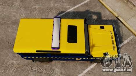 Land Rover Defender HM Coastguard [ELS] für GTA 4 rechte Ansicht