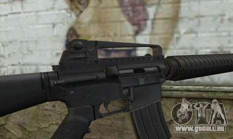 M16A2 für GTA San Andreas dritten Screenshot
