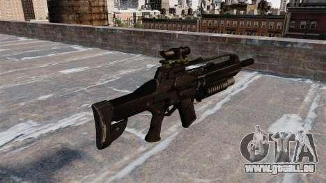 Narbe Selbstladegewehr für GTA 4 Sekunden Bildschirm