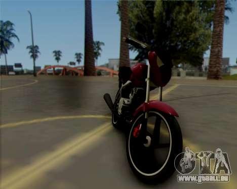 Honda Titan pour GTA San Andreas laissé vue