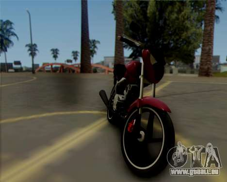Honda Titan für GTA San Andreas linke Ansicht