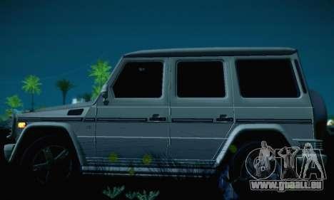 Mercedes-Benz G500 für GTA San Andreas Seitenansicht