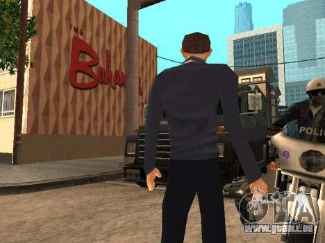 Peter Parker du jeu Spider-Man 2 pour GTA San Andreas troisième écran